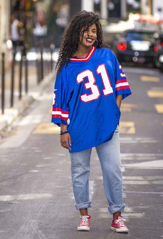 T-shirt sport Basket femme Hippy Market