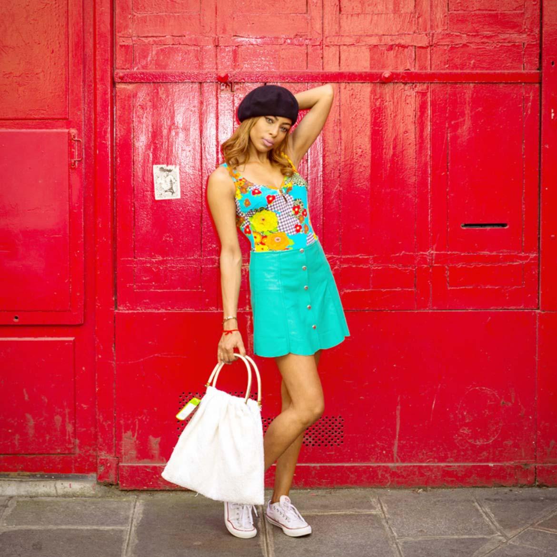 Robe Femme été Hippy Style 80s Hippy Market