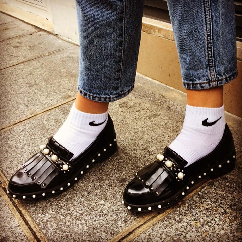 Chaussures Vintage et chaussettes Nike Hippy Market