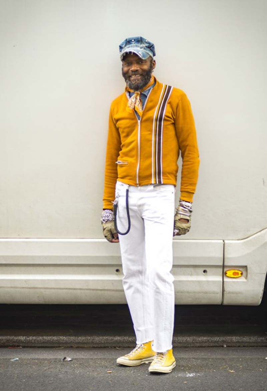 Vêtements Mode Homme Hippy Style Jaune
